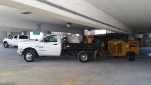 Shotcrete truck